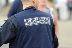 Criminal identification gendarmerie Stock Images