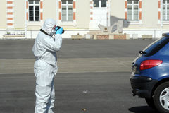 Criminal identification gendarmerie Royalty Free Stock Images