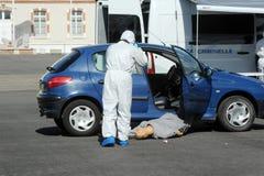 Criminal identification gendarmerie Royalty Free Stock Photography
