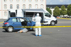 Criminal identification gendarmerie Stock Photography