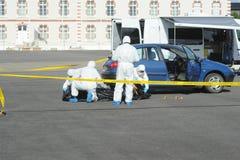 Criminal identification gendarmerie Royalty Free Stock Photo