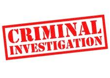 CRIMINAL INVESTIGATION Stock Photos