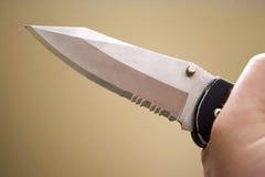 Criminal with a Knife Stock Photos