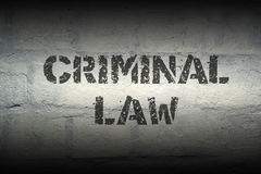 Criminal law GR Stock Photography