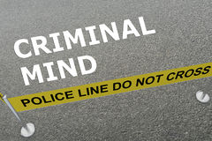 Criminal Mind concept Stock Photo
