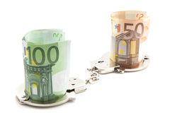 Criminal money Stock Images