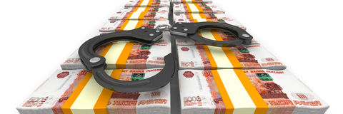 Criminal money Royalty Free Stock Photography