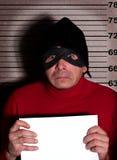 Criminal photo Royalty Free Stock Image