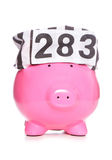 Criminal piggy bank Royalty Free Stock Photography