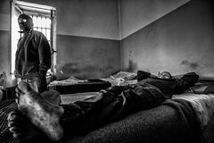 Criminal Psychiatric Hospital Stock Images