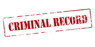 Criminal record Stock Photo
