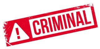 Criminal rubber stamp Royalty Free Stock Photos