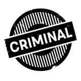Criminal rubber stamp Stock Photography
