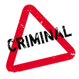 Criminal rubber stamp Stock Photo