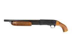 Criminal sawn-off shotgun Stock Images