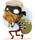 Criminal Thief Activity Stock Photo
