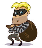 Criminal Thief Royalty Free Stock Photo