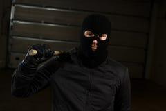 Criminale Fotografie Stock