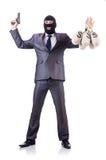 Criminale dell'uomo d'affari Fotografia Stock Libera da Diritti