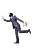 Criminale dell'uomo d'affari Immagine Stock