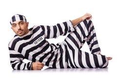 Criminale di condannato Fotografia Stock Libera da Diritti