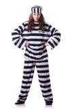 Criminale di condannato Fotografie Stock
