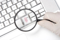 Criminalidad del ordenador fotos de archivo libres de regalías