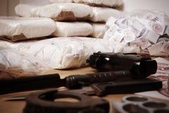 Criminalità della droga Fotografia Stock Libera da Diritti