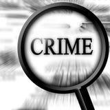 Crimine Immagini Stock