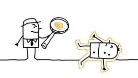 Crimine & ricerca Fotografia Stock