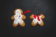 Crimine del biscotto fotografia stock libera da diritti