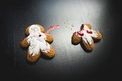Crimine del biscotto immagini stock libere da diritti