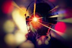 Crimine del Cyberspace, fondo del pirata informatico Immagini Stock