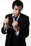 Crimine di affari Fotografia Stock