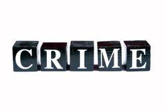 Crimine di combattimento Fotografie Stock