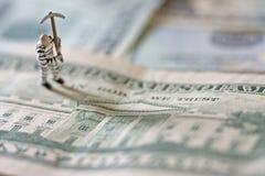 Crimine finanziario Fotografie Stock Libere da Diritti