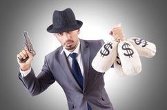 Criminel d'homme d'affaires Photographie stock libre de droits