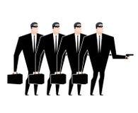 Criminel de bande d'affaires Voleur d'homme d'affaires Vol d'affaires Le VE Photos libres de droits