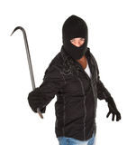 Criminel masqué Images stock
