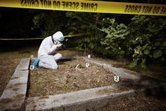 Criminologist photographer Stock Photos