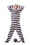 Criminoso de condenado Foto de Stock