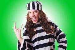 Criminoso de condenado Imagem de Stock Royalty Free