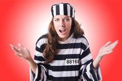 Criminoso de condenado Imagens de Stock Royalty Free