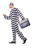 Criminoso de condenado Imagens de Stock