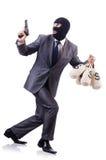 Criminoso do homem de negócios Fotografia de Stock Royalty Free