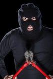 Criminoso violento imagem de stock