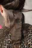 Crimp hairdo Stock Images
