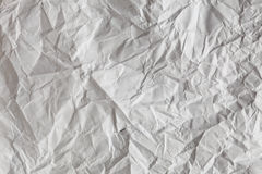 Crimp White Paper texture sheet. Background Royalty Free Stock Photos