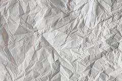 Crimp White Paper texture sheet Royalty Free Stock Photos