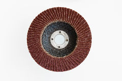 Crimped Wire Bench Grinder Wheels ,Stack of abrasive disks for m Stock Photos